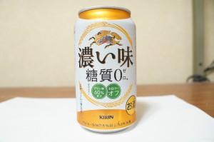 KIRIN キリン 濃い味糖質0(ゼロ)の缶正面