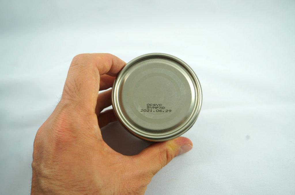 缶詰裏表記