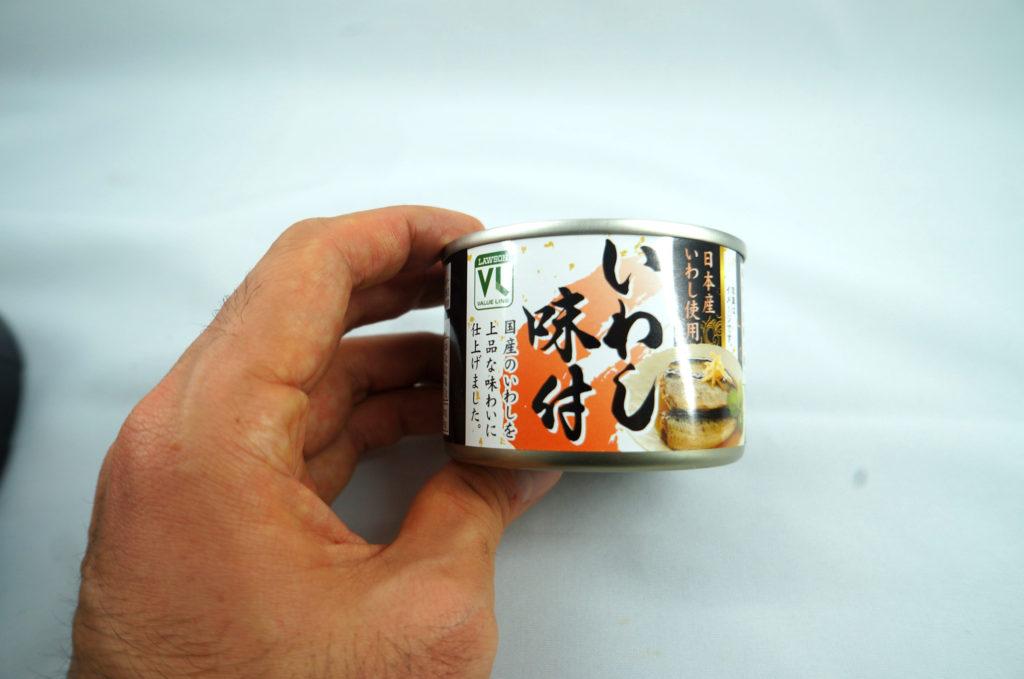 ローソンバリューラインのいわし味付日本産いわし使用