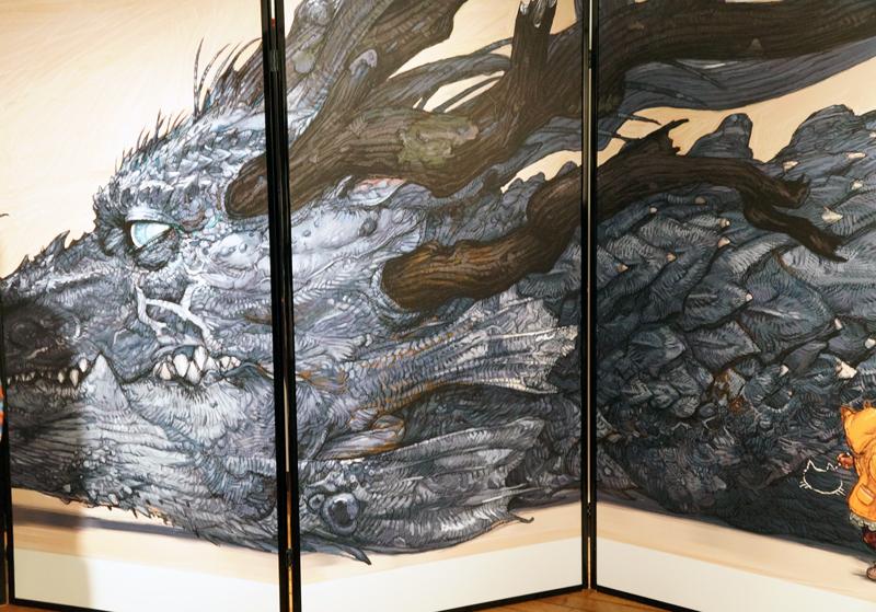 寺田克也ココ10年展イラスト