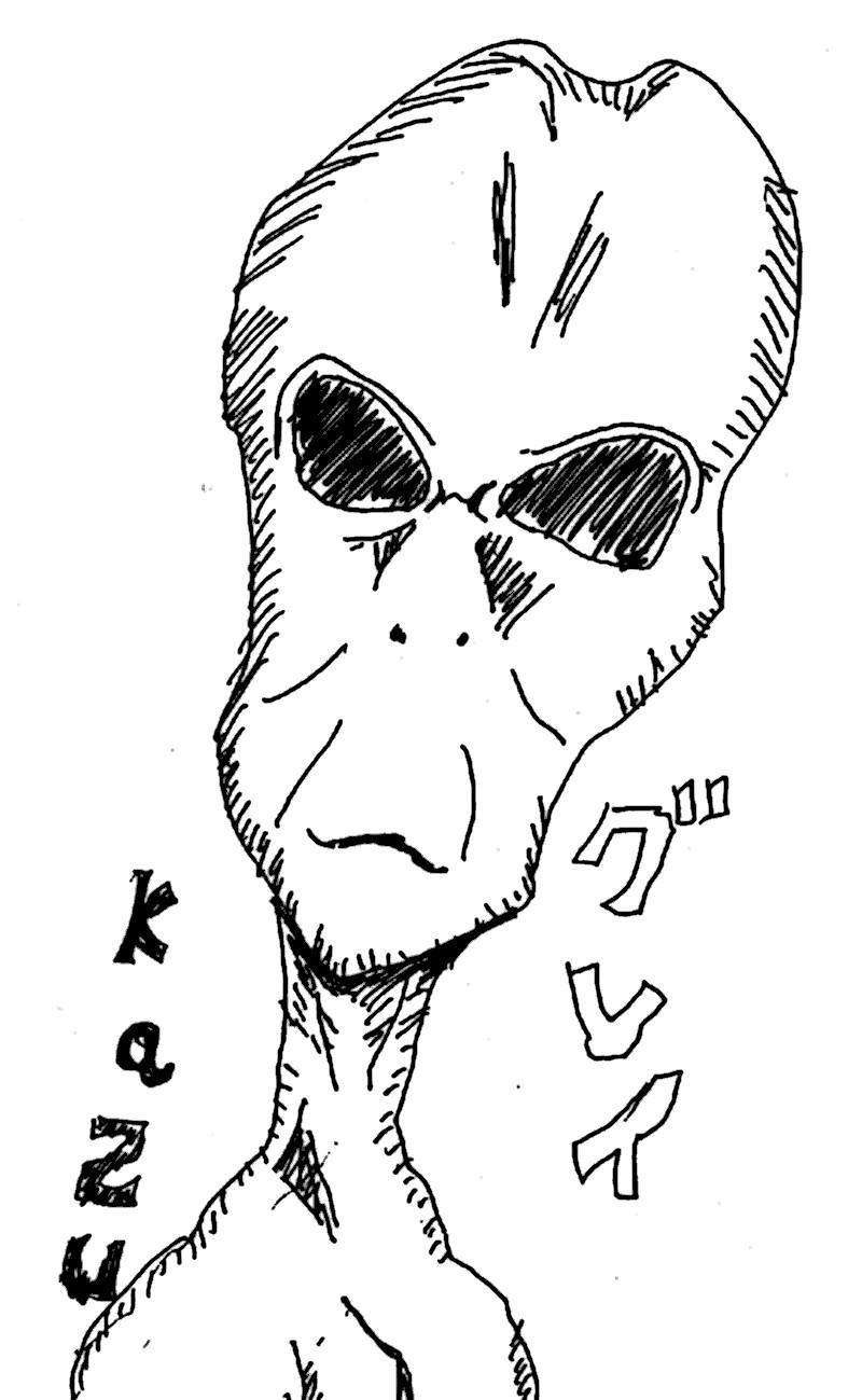 地球外生命体(エイリアン)グレイ