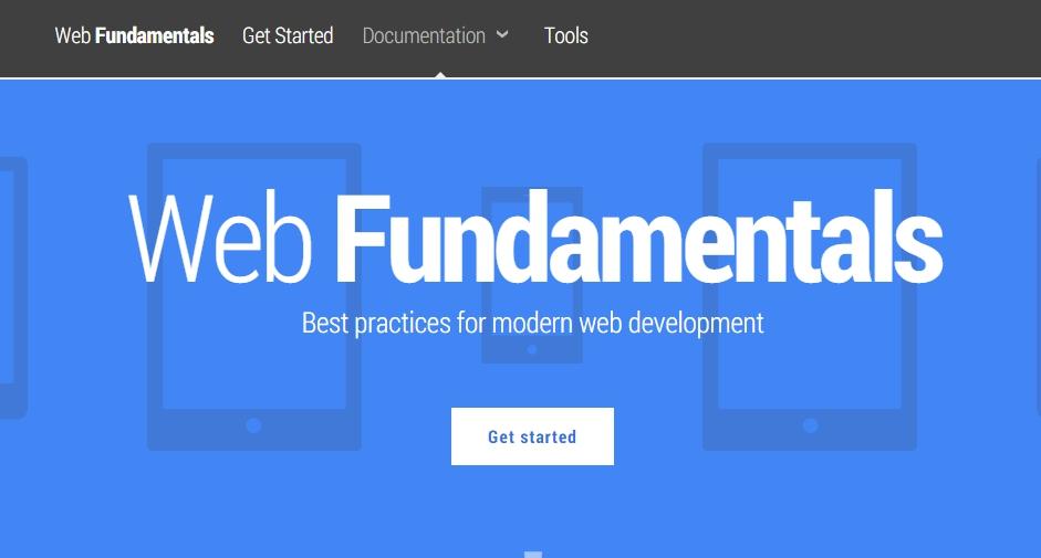 Web Fundamentals — Google Developers