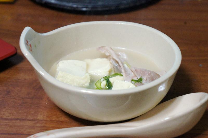 白湯鍋完成