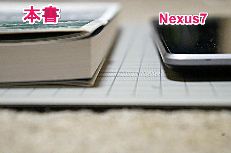 Nexus7(タブレット)との比較