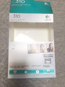 ロジクール ウェブカメラ C310箱表